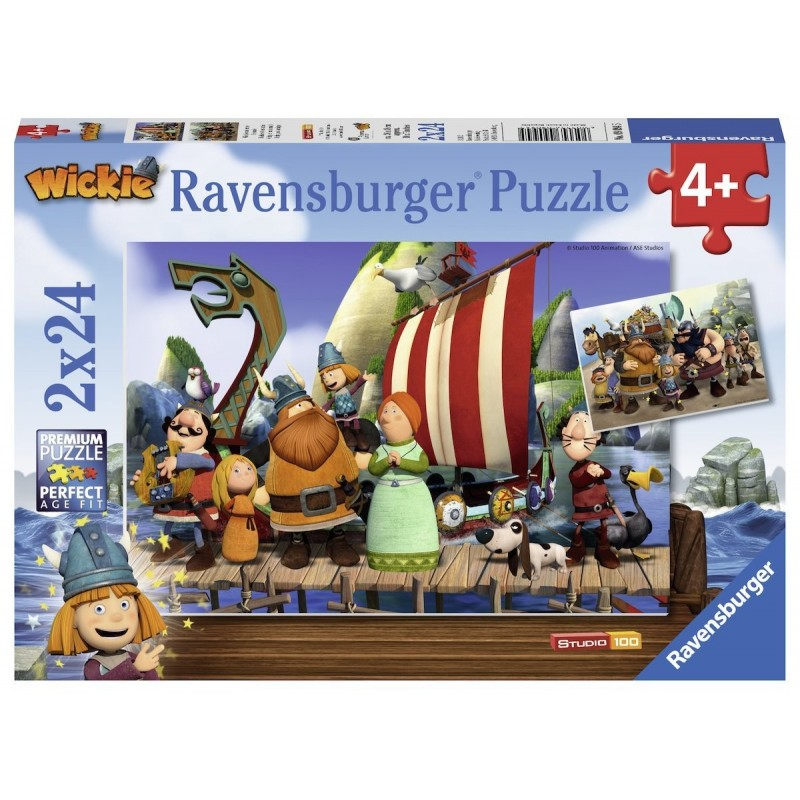 Wickie - 2x24 Teile Puzzle...