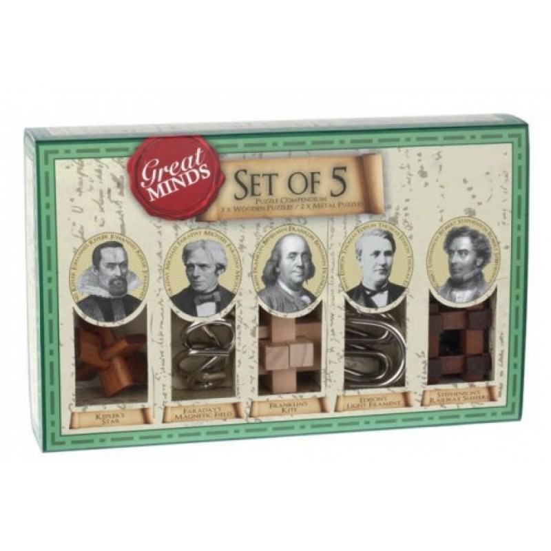 Set of 5 - Puzzle...